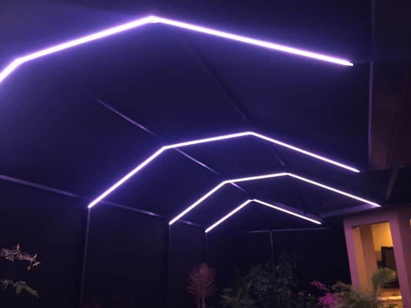 Pool Lighting in Florida & South Beach Lighting